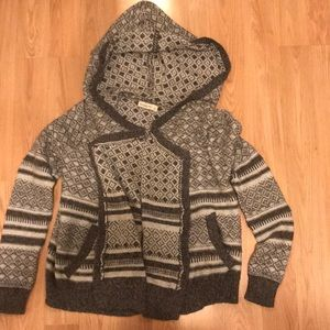 Women's hooded Abercrombie sweater